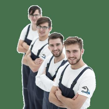 Team van ervaren verhuizers in België