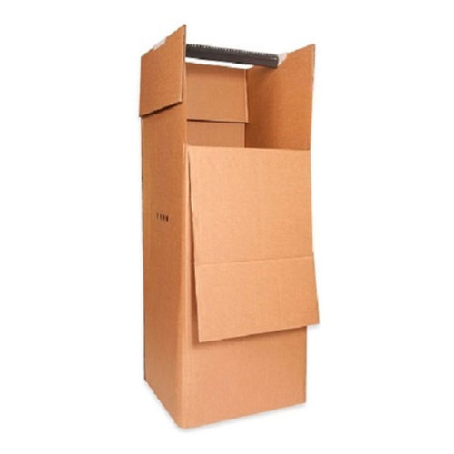 2 Kledingboxen voor al uw kledingstukken inclusief roede.
