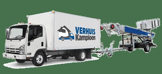 Verhuiswagen met lift huren in België